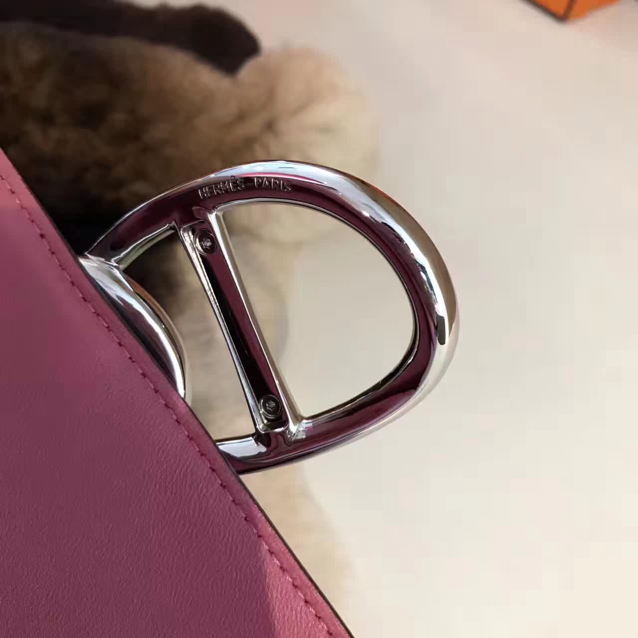 广州爱玛皮具 爱马仕期待已久的日扣手包 BOX皮全手工