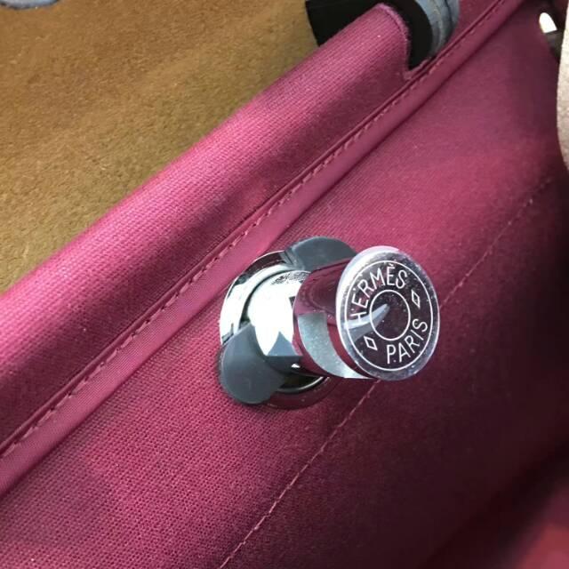 Hermes爱马仕包包 31Herbag B5 Rubis 宝石红
