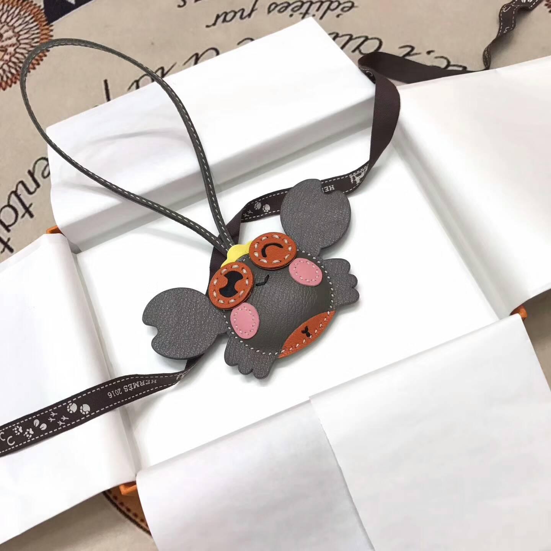 爱马仕包包 小螃蟹配件 时尚可爱 颜色丰富选择多