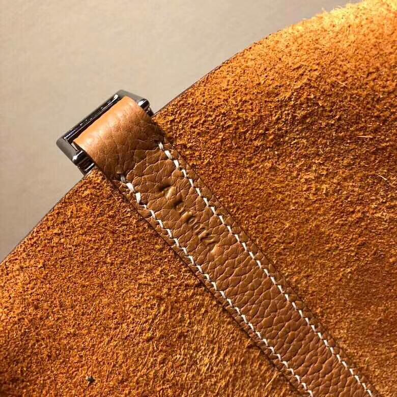 爱马仕菜篮子 Picotin Lock 18cm Clemence 37 Gold 金棕 银扣 回头率百分百