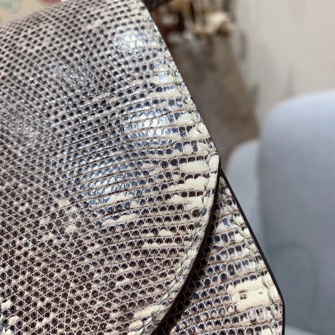 (正品对比)Mosaique马赛克 17cm Lizard 1B Ombre 雪花色 银扣